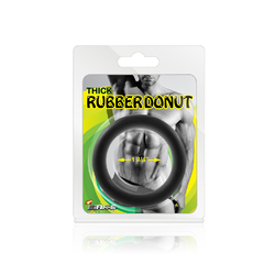"""Thick Rubber Donut Ring - 1.75"""""""