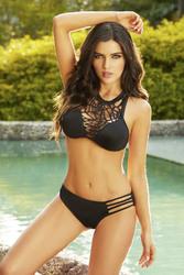Cheeky Bikini Bottom - Black - Small
