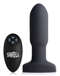 World's 1st Remote Control Inflatable 10x Missile  Anal Plug
