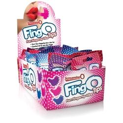 Fingo Tips - 18 Count Pop Box Display - Assorted Colors