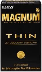 Trojan Magnum Thin - 12 Pack Tj64612