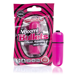 Vooom Bullets Mini-Vibes - Each - Strawberry