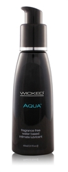 Aqua Water-Based Lubricant - 2 Oz.