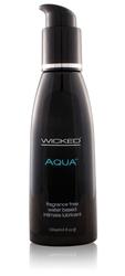 Aqua Water-Based Lubricant - 4 Oz.