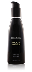 Aqua Sensitive Water-Based Lubricant - 4 Oz.