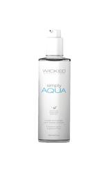 Simply Aqua Fragrance Free Lube 4oz 120ml