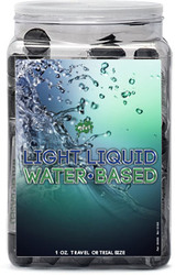 Wet Light Liquid Lubricant 36pc Display 1 Oz