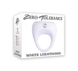 Zero Tolerance White Lightning Silicone Cockring