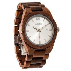 Men Custom Engrave Walnut Wooden Watch - Personalize Your Watch