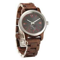 Men Handcrafted Engraving Walnut Wood Watch - Best Gift Idea!