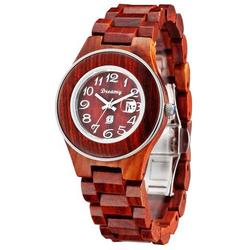 Women Natural Rosewood Wooden Watch - She Deserve It