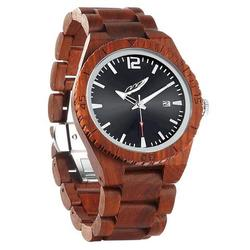 Men Personalized Engrave Rose Wood Watches - Free Custom Engraving
