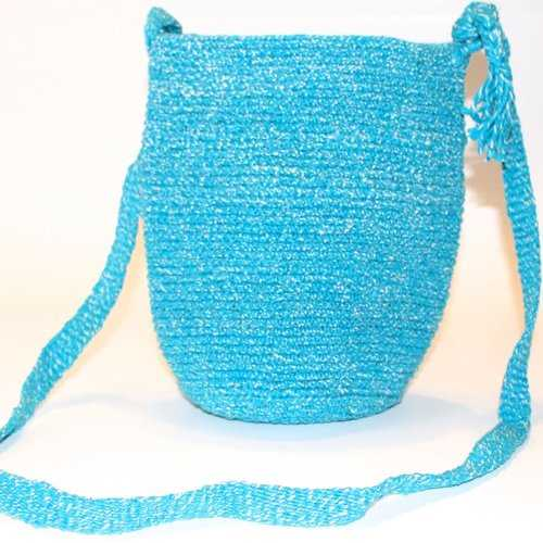 Mayan Bag - Turquoise - Natural Artist