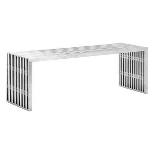 46.5x15.3x16.5 Stainless Steel Bench
