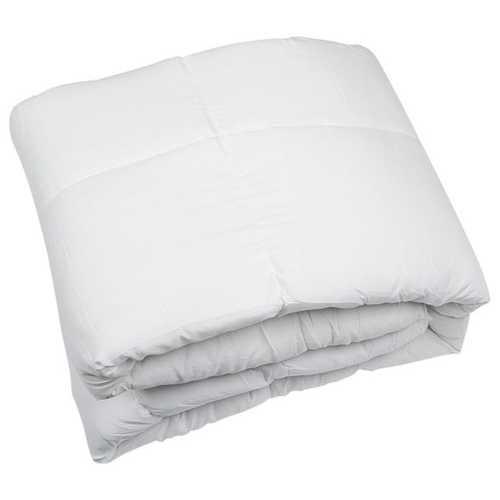 "88"" X 88"" King White Polyester Medium Warmth Down Comforter Duvet Insert"