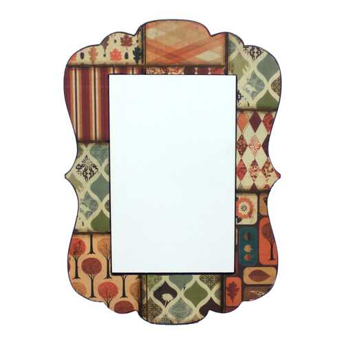 "0.24"" x 27.17"" x 18.9"" Multi Color Vintage Decorative Dressing  Mirror"
