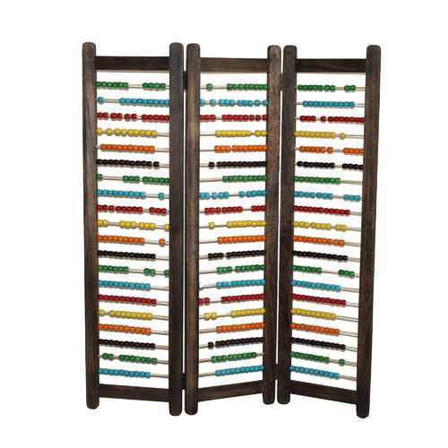 "1"" x 35"" x 43"" Multi-Color, Wood - Screen"