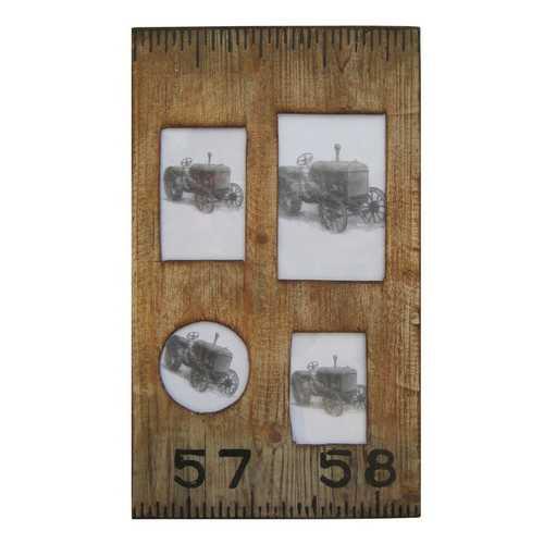 "1"" x 19"" x 1"" Brown, Wooden - Photo Frame"