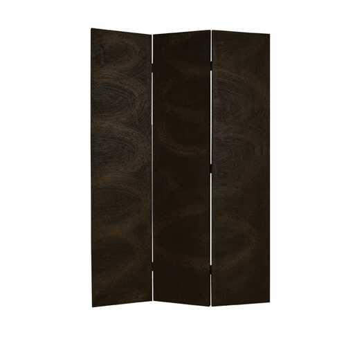 "1"" x 48"" x 72"" Black, Wood Canvas - Screen"
