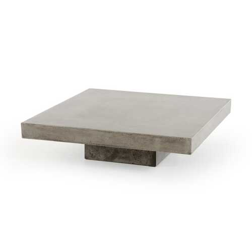 "12"" Concrete Coffee Table"