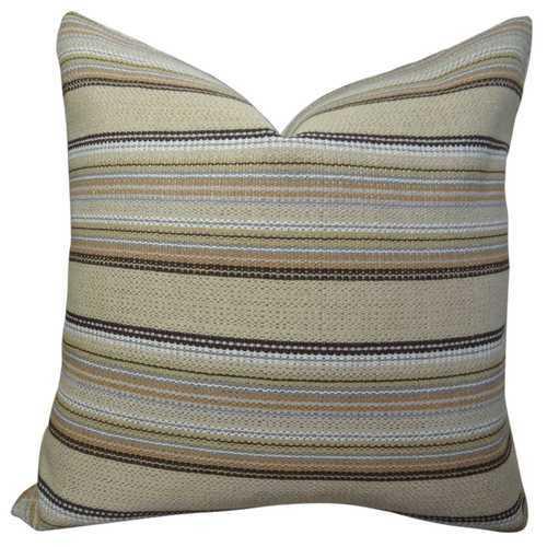 Camp Evergreen Handmade Throw Pillow
