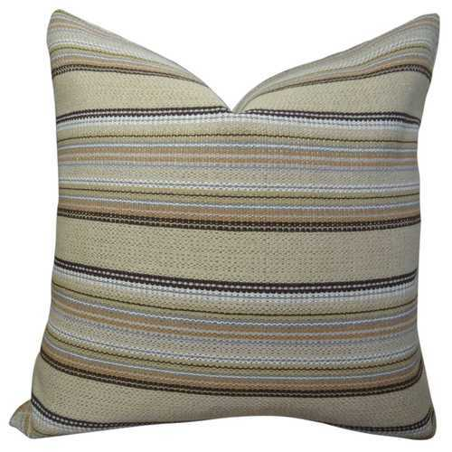 Camp Evergreen Handmade Throw Pillow