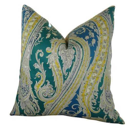 Fun Paisley Handmade Throw Pillow