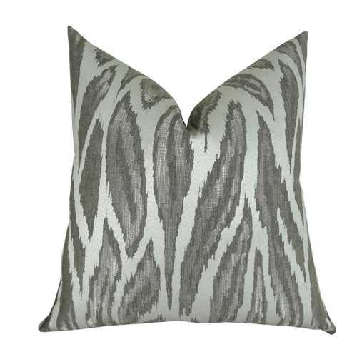 Glacier Handmade Throw Pillow
