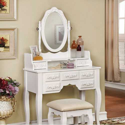 HARRIET Traditional Vanity, White