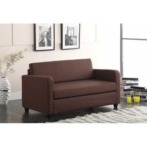 Faddish Adjustable Sofa, Chocolate Brown