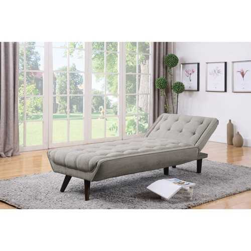 Exotic Dove Gray Relaxing Chaise