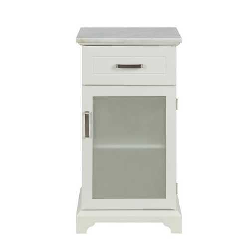 "16"" X 13"" X 30"" White Classy Cabinet"