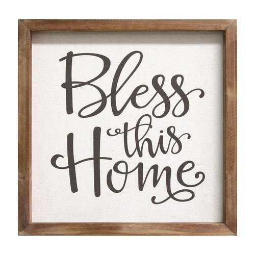 """""""Bless This Home"""" Wall Art"""