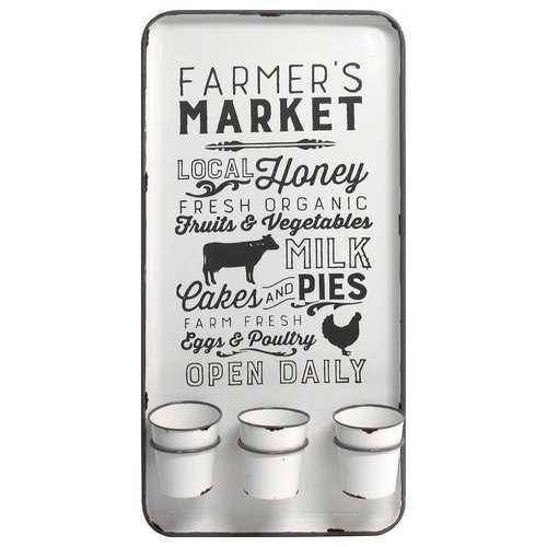 Farmers Market Multi Function Wall Organizer