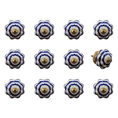 "1.5"" X 1.5"" X 1.5"" Multi-Color 12 Pack Knob-It K3544"