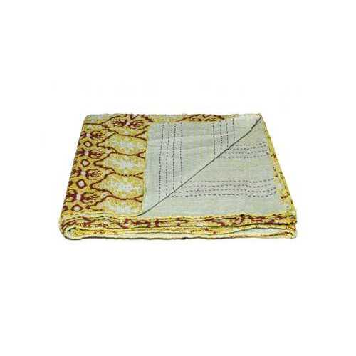 "50"" x 70"" Multicolored, Charming, Kantha - Throw"