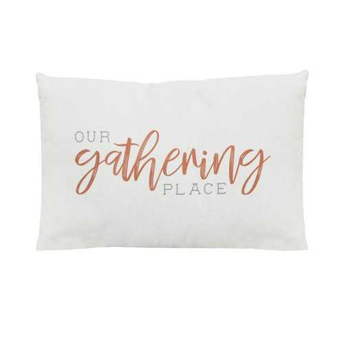 """Our Gathering Place"" Lumbar Pillow"