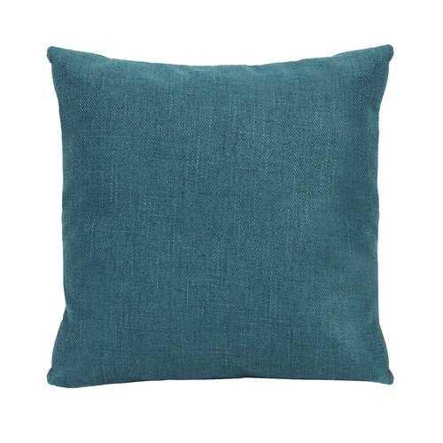 Blue Tweed Pillow