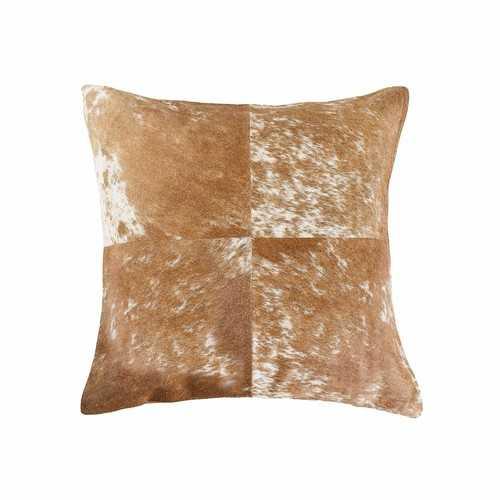 """18"""" X 18"""" Salt And Pepper Quattro Pillow"""