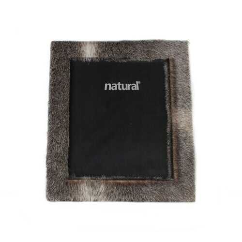 """11"""" x 13"""" Grey, Cowhide - 8"""" x 10"""" Picture Frame"""