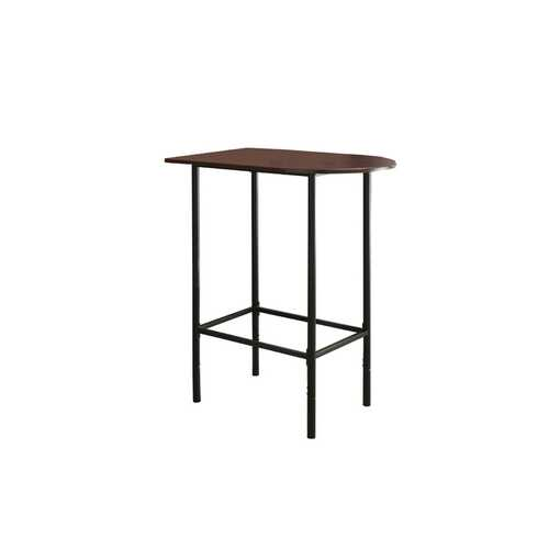 "23.75"" x 35.5"" x 41"" Cappuccino, Black, Mdf, Metal - Home Bar"