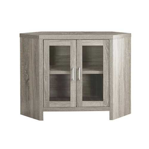 """15'.5"""" x 42"""" x 30"""", Particle Board, Glass, Hollow-Core - TV Stand"""