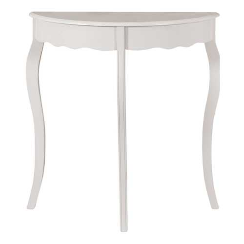 "12"" x 30.75"" x 32"" Antique White /Hall Console - Accent Table"