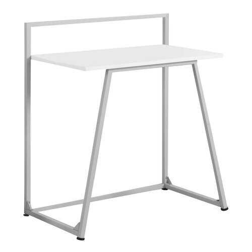 "17.75"" x 29.5"" x 34"" White, Mdf, Metal - Computer Desk"