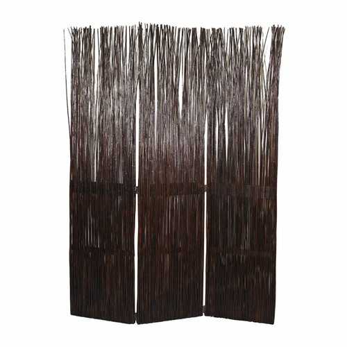 """47"""" x 1.5"""" x 67"""" Brown Willow Branch  Screen"""