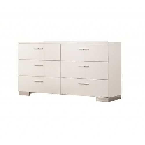 Wooden Dresser, White