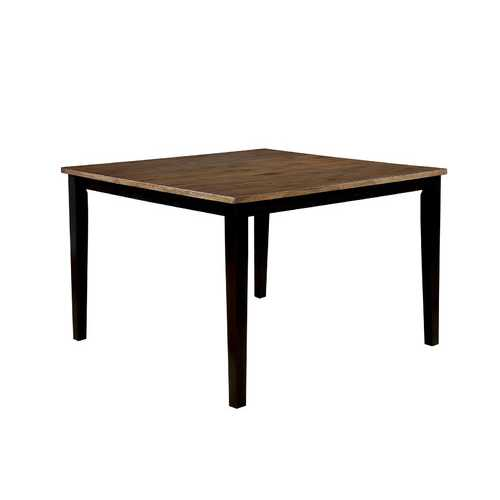 Wood Counter Height Table, Espresso Brown