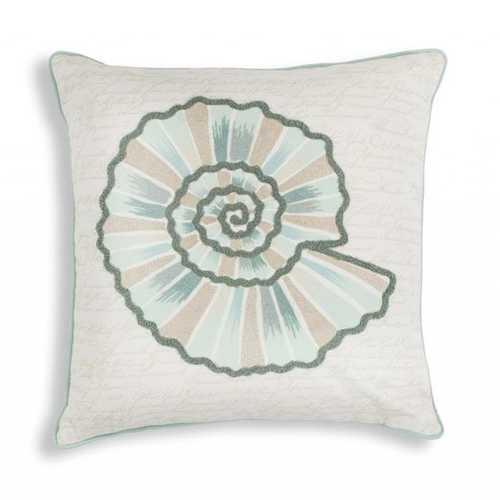 "18"" x 18"" Cotton Ivory Pillow"