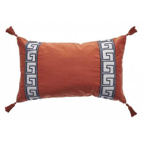 "12"" x 20""  Tangerine Pillow"