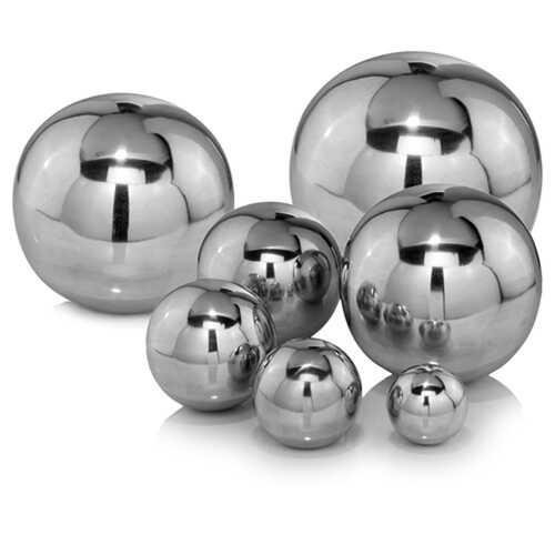 "12"" x 12"" x 12"" Buffed Polished - Sphere"